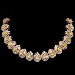 9.21 ctw Peridot & Diamond Earrings 14K Rose Gold