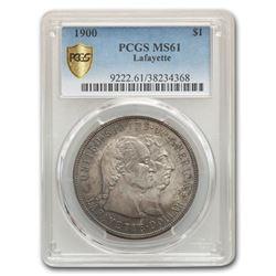 1900 Lafayette Dollar MS-61 PCGS