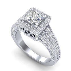 5.13 ctw Opal & Diamond Necklace 14K Rose Gold