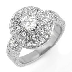 15.45 ctw Aquamarine & Diamond Bracelet 14K White Gold