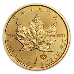 2016 Canada 1 oz Gold Maple Leaf BU