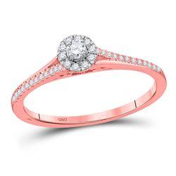 10kt White Gold Round Diamond Arrow Fashion Necklace 1/8 Cttw