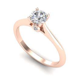 1.25 ctw Intense Blue Diamond Necklace 10K White Gold