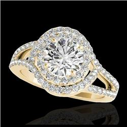 25 ctw Emerald & VS/SI Diamond Earrings 18K White Gold