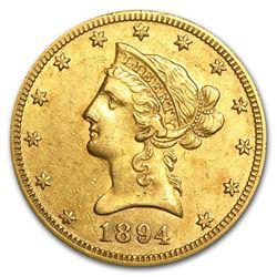 1894-O $10 Liberty Gold Eagle XF