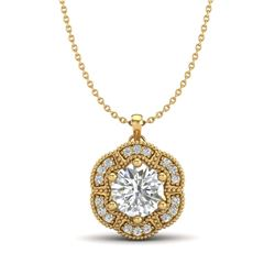 2 ctw H-SI/I Diamond Stud Earrings 10K Rose Gold