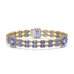2.8 ctw VS/SI Diamond Solitaire Art Deco Ring 18K Yellow Gold