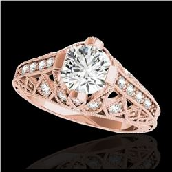1.93 ctw SI/I Fancy Intense Yellow Diamond Ring 10K White Gold