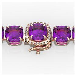 10.36 ctw Sky Blue Topaz & VS/SI Diamond Earrings 10K Rose Gold