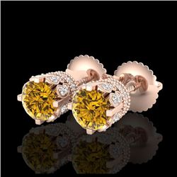 14.57 ctw Emerald Diamond Bracelet 18K Rose Gold