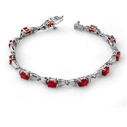 1.27 ctw Ruby & Diamond Ring 14K Rose Gold