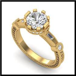 45.25 ctw Peridot & VS/SI Diamond Necklace 14K White Gold