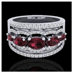 1.15 ctw VS Black Diamond Solitaire Ring 10K White Gold