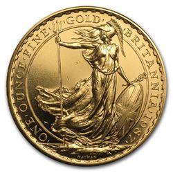 1987 Great Britain 1 oz Gold Britannia BU