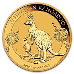 2020 Australia 1 oz Gold Kangaroo BU