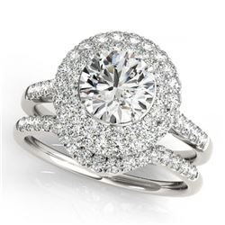 1.50 ctw Black Diamond Necklace 18K Rose Gold