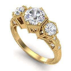 39.82 ctw Aquamarine & Diamond Bracelet 14K Rose Gold