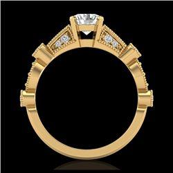 2 ctw VS/SI Diamond Necklace 18K Yellow Gold