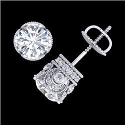 56.04 ctw Emerald & Diamond Bracelet 14K White Gold