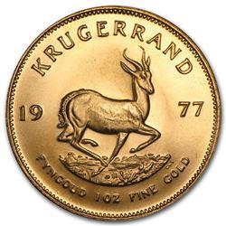 1977 South Africa 1 oz Gold Krugerrand