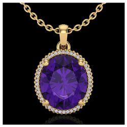 1.25 ctw SI Intense Yellow Diamond Ring 10K White Gold