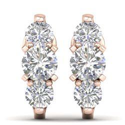17.50 ctw Tanzanite & Diamond Bracelet 14K White Gold