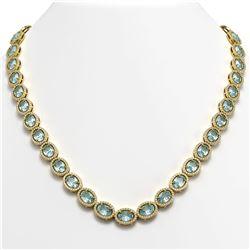 6.08 ctw Morganite & Diamond Ring 14K White Gold