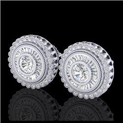 4.14 ctw Opal & Diamond Necklace 14K Rose Gold