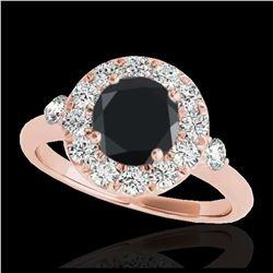 1 ctw H-SI/I Diamond Ring 10K White Gold