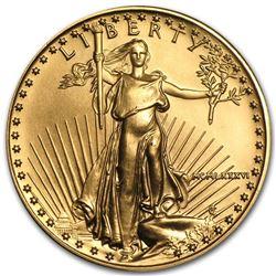1986 1/2 oz Gold American Eagle BU (MCMLXXXVI)