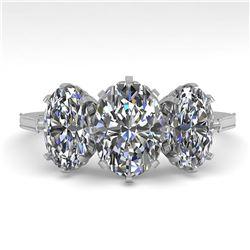 31.95 ctw Garnet & Diamond Necklace 14K White Gold