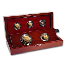 2020 Great Britain 5-Coin Gold Sovereign Proof Set