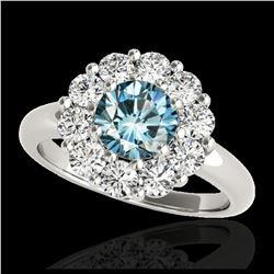 10.36 ctw Pear Diamond Bracelet 18K White Gold