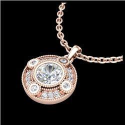 2.22 ctw SI Fancy Blue Diamond Halo Ring 10K White Gold