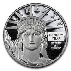 1 oz Proof Platinum American Eagle (Random Year\, Capsule Only)