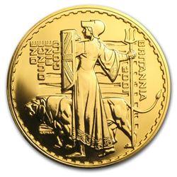 2001 Great Britain 1 oz Gold Britannia BU
