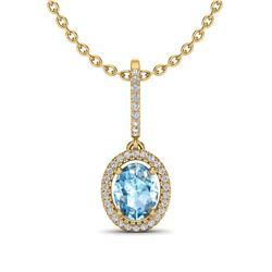 2 ctw Citrine & VS/SI Diamond Ring 14K Rose Gold