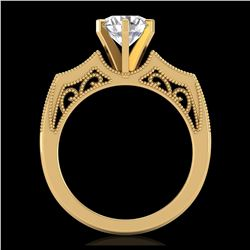 45.25 ctw London Blue Topaz & VS/SI Diamond Necklace 14K Rose Gold
