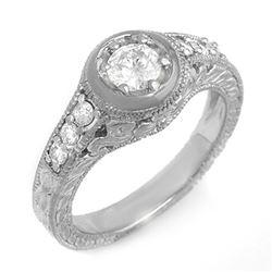 1.25 ctw VS/SI Diamond Ring 14K 2-Tone Gold
