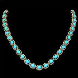 5.50 ctw Morganite & VS/SI Diamond Halo Earrings 14K Rose Gold
