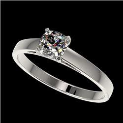 1.25 ctw Fancy Black Diamond Art Deco Ring 18K White Gold