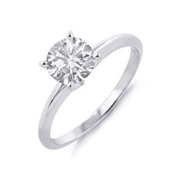 1.75 ctw Solitaire VS/SI Diamond Ring 14K Yellow Gold
