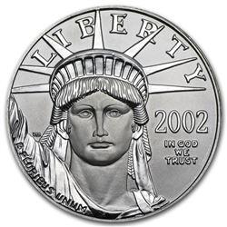 2002 1 oz Platinum American Eagle BU