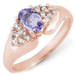 0.50 ctw VS/SI Diamond Solitaire Ring 14K White Gold