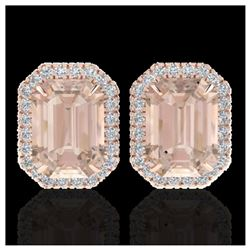 2 ctw VS/SI Diamond Necklace 14K Rose Gold