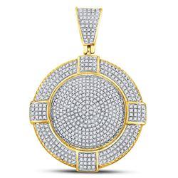 14kt White Gold Round Diamond 3-Stone Bridal Wedding Engagement Ring Band Set 7/8 Cttw