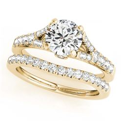1.43 ctw VS/SI Princess Diamond Wedding 14K White Gold