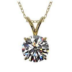 10.99 ctw Blue Sapphire & Diamond Ring 14K Yellow Gold