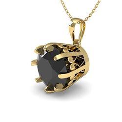 0.82 ctw VS/SI Diamond Solitaire Art Deco Stud Necklace 18K Rose Gold