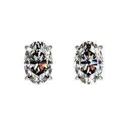 1.53 ctw VS/SI Diamond 2pc Wedding Set 14K White Gold